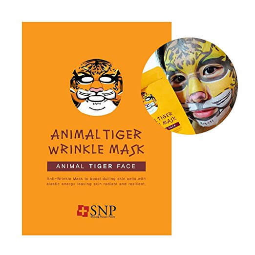 Tiger treatment mask