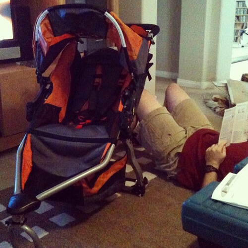Assembling the BOB Revolution stroller