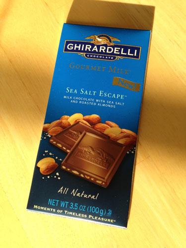Ghiradelli Sea Salt Escape