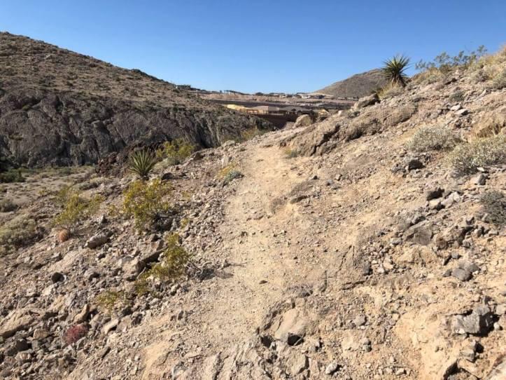 Buckskin Cliff Shadows trail