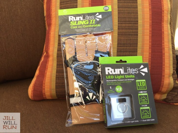 RunLites LED Light Units and Sling II in package