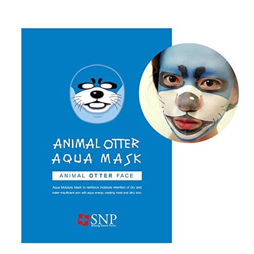 Otter facial treatment mask