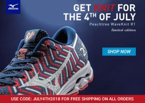 Mizuno 4th of July s 2018ale
