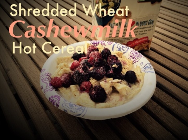 Shredded Wheat Cashewmilk Hot Cereal