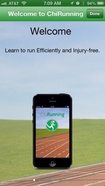 ChiRunning app