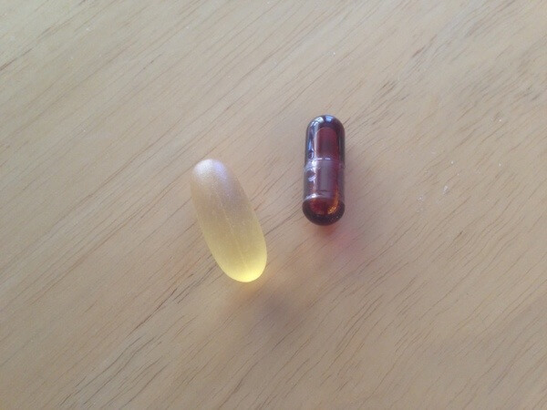 Fish oil and krill oil