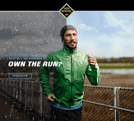 GORE-TEX - What will you overcome to own the Run
