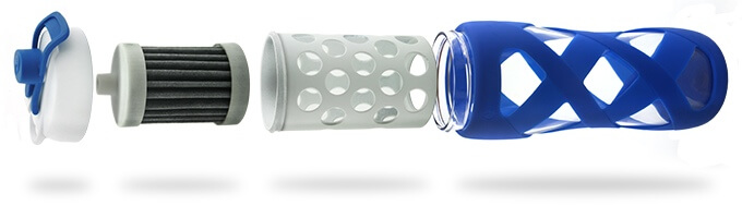 Aquasana Filter Water Bottle