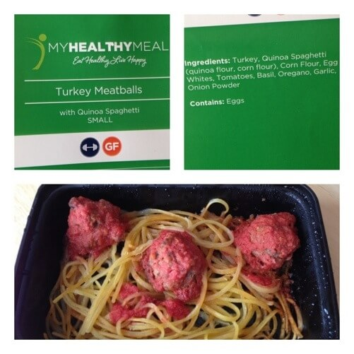 Turkey Meatballs from My Healthy Meal