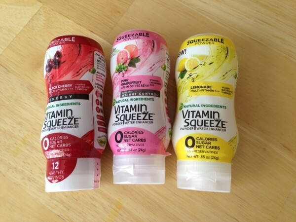 Vitamin Squeeze bottles