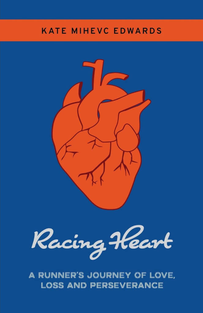 Racing Heart by Kate Mihevc Edwards - Front Cover