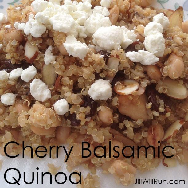 Cherry Balsamic Quinoa