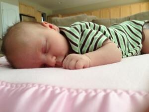 Alexis at 7.5 weeks