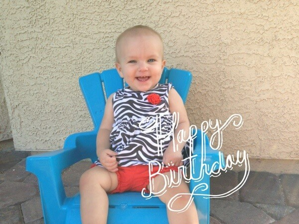 Happy 1st Birthday Alex