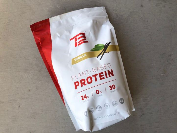 TB12 Protein Powder - Package Front