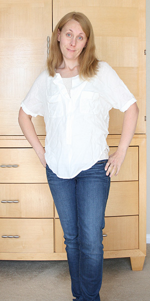 Stitch Fix - White Top