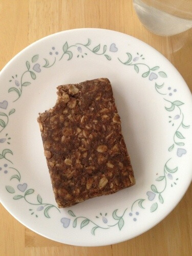 CORE Foods banana walnut bar