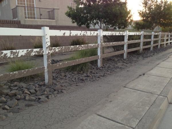 Muddy Fence