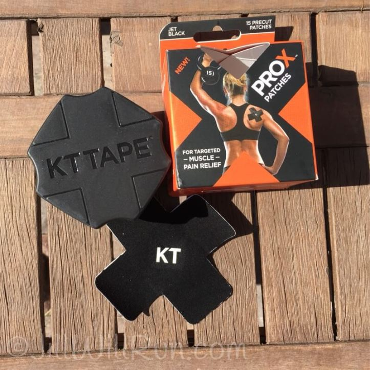 KT Tape Pro X patches are a convenient way to target pain.