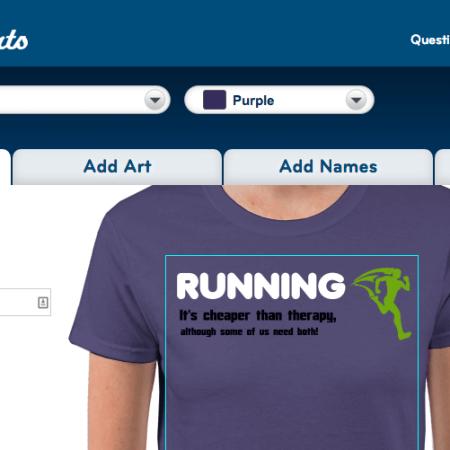 T-Shirt Designer on Allied Shirt