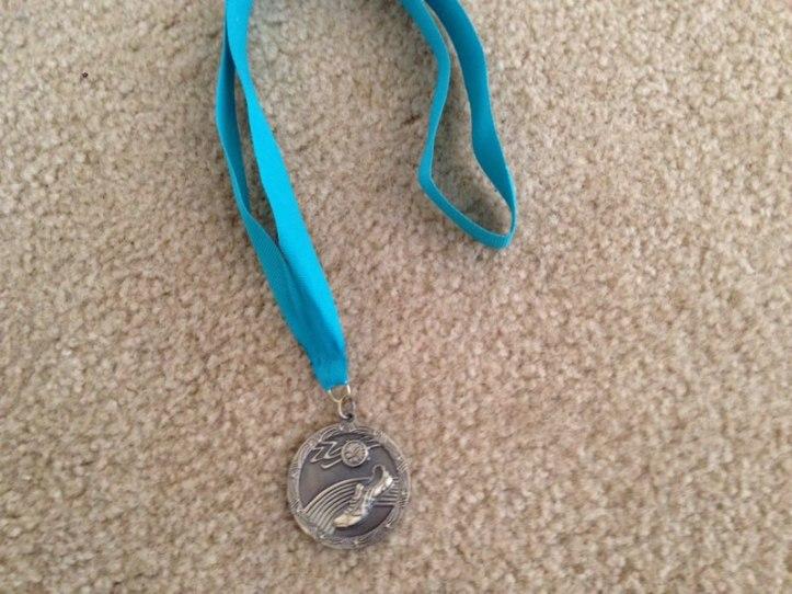 2014 Parowan Half Marathon Medal