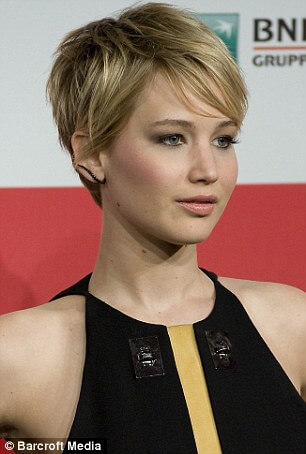 Jennifer Lawrence - Pixie Haircut