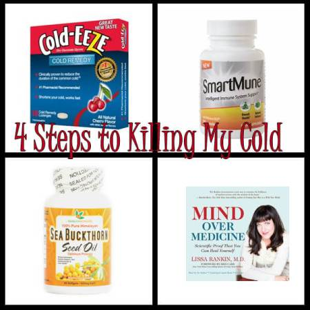 4 Steps to Killing My Cold