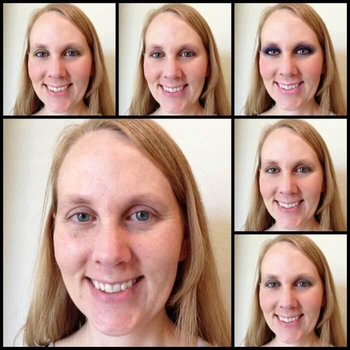 Perfect 365 app makeup