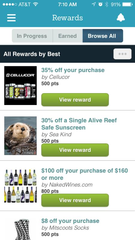 EveryMove app screenshot