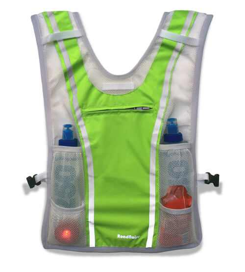 RoadNoise Long Haul Vest ( front of vest)