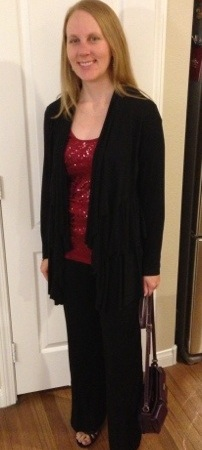 Dressed for Holiday Party