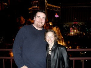 Stephanie and Aaron in Vegas