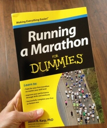 Running a Marathon for Dummies by Jason R. Karp, PhD