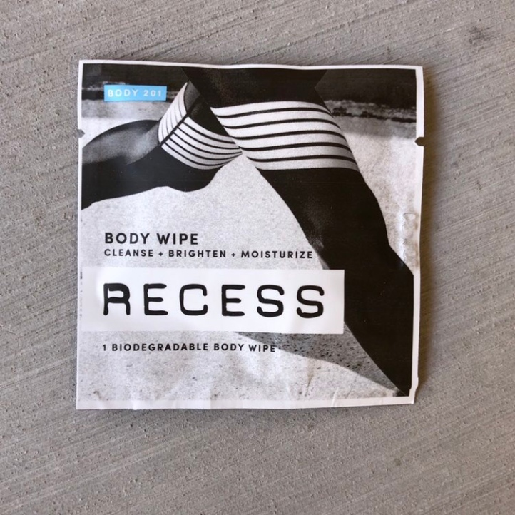 Body wipe from Recess