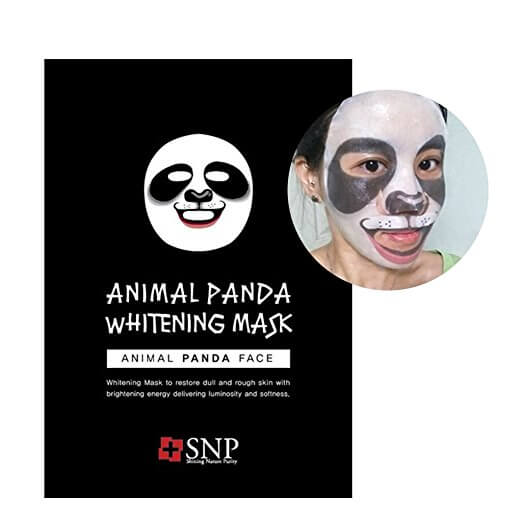 Panda facial treatment mask