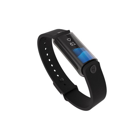 LVL wearable with black wristband