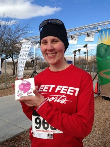 Love on the Run 5K finishers tile