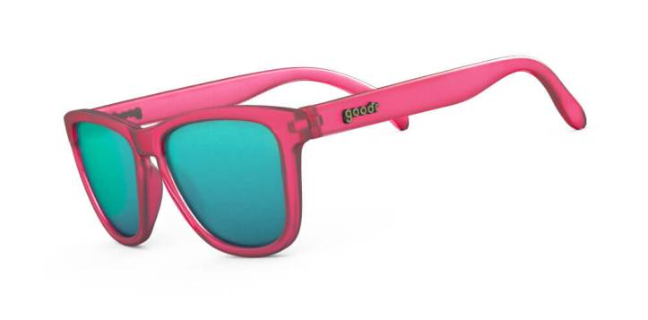 Goodr Shades - Flamingos on a Booze Cruise style