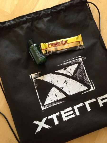 XTERRA 2013 Trail Race schwag bag