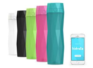 Hidrate water bottle and app