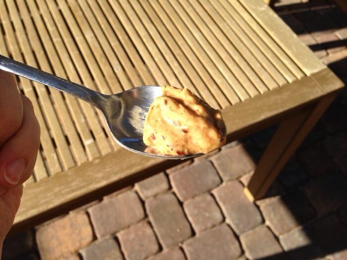 Original Nuttzo in spoon