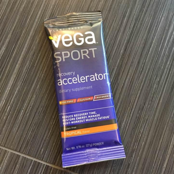 Vega Sport Recovery Accelerator in April 2017 StrideBox