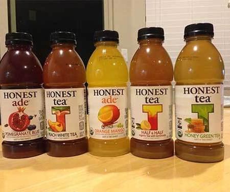 Honest Tea beverage lineup