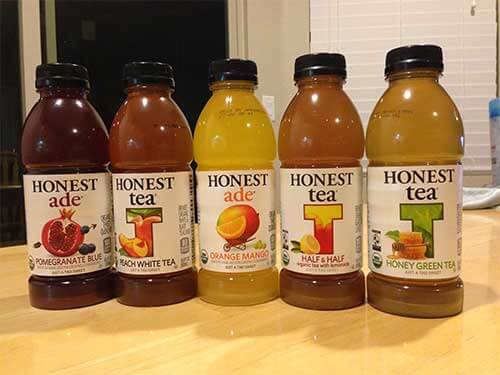 Honest Tea beverage lineup