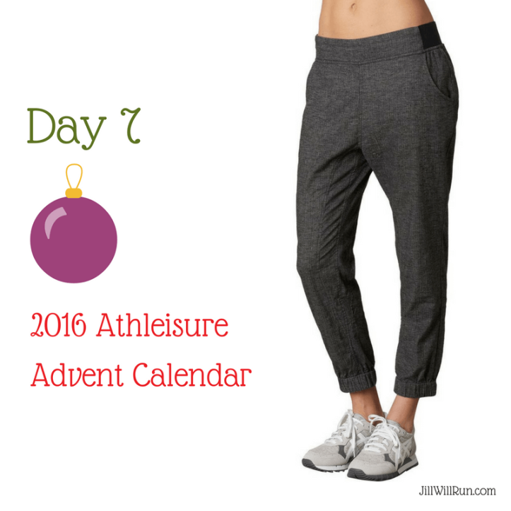 2016 Athleisure Advent Calendar - Day 7