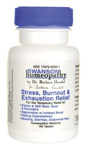 Swanson's Stress Burnout & Exhaustion Relief