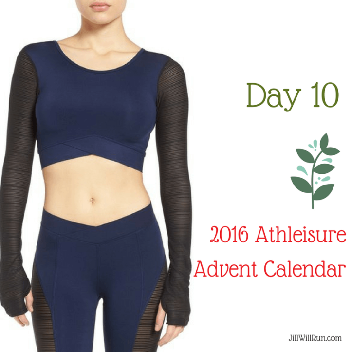 2016 Athleisure Advent - Day 10 | Ivy Park Mesh Crop Top
