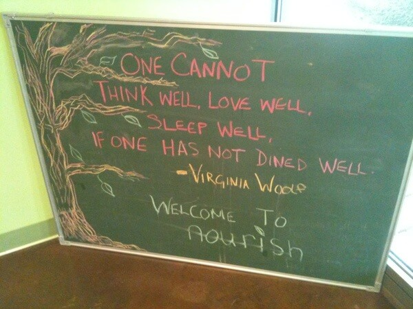 One cannot think well, love well, sleep well if one has not dined well. - Virginia Woolf