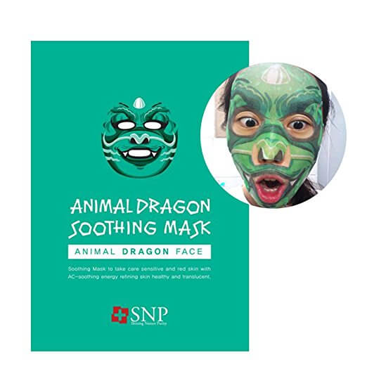 Dragon facial treatment mask