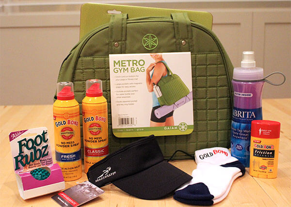Gold Bond Summer Work Out Essentials Giveaway